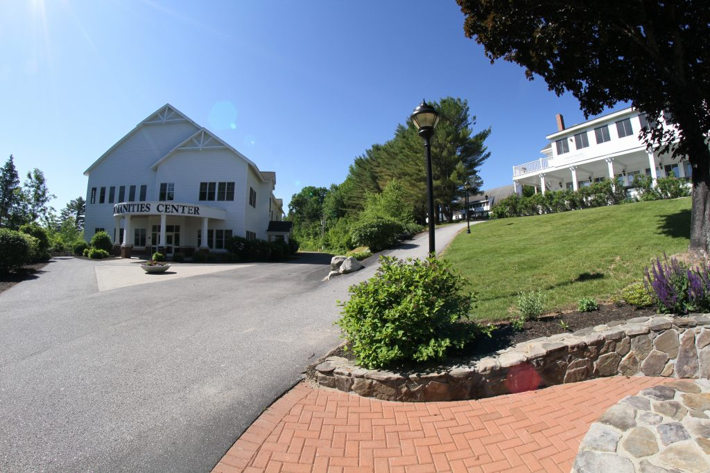 The Humanities Center Quad